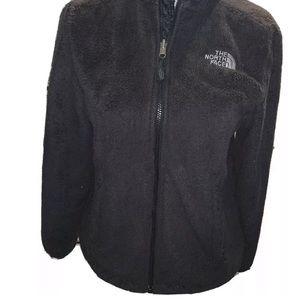 North Face Womens Black Osito Full Zip Fleece